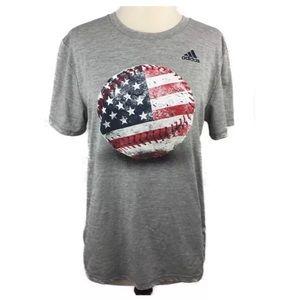 Adidas Baseball USA Short Sleeve Tee